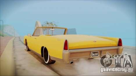 GTA 5 Vapid Chino Bobble Version для GTA San Andreas вид слева