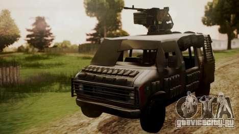 BF3 Rhino для GTA San Andreas вид справа