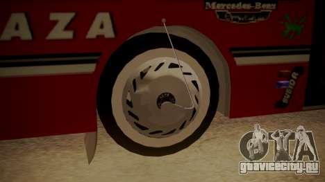 Mercedes-Benz OH-1315 для GTA San Andreas вид сзади слева