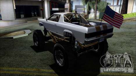 GTA 5 Cheval Marshall для GTA San Andreas вид слева