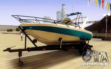 GTA V Boat Trailer для GTA San Andreas