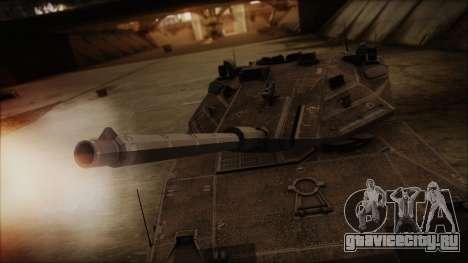 M2A1 Slammer Tank для GTA San Andreas вид справа