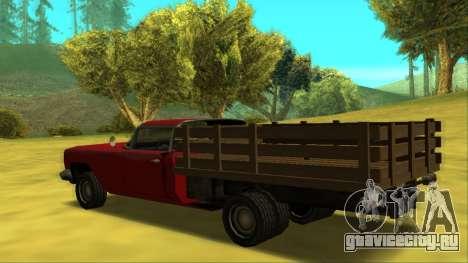 Voodoo El Camino v2 (Truck) для GTA San Andreas вид сзади слева
