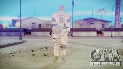 MGSV Phantom Pain Snake Normal Golden Tiger для GTA San Andreas третий скриншот