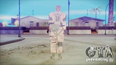 MGSV Phantom Pain Snake Normal Golden Tiger для GTA San Andreas третий скриншот