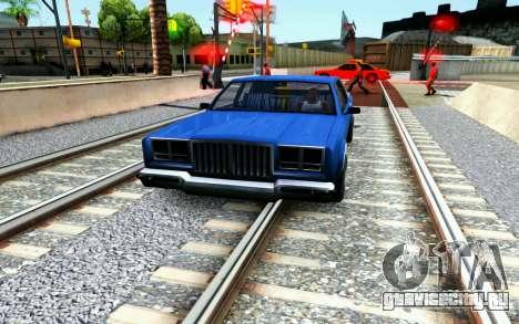 ENB for Medium PC для GTA San Andreas седьмой скриншот