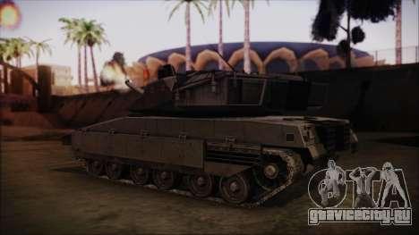 M2A1 Slammer Tank для GTA San Andreas вид слева
