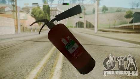 GTA 5 Fire Extinguisher для GTA San Andreas третий скриншот