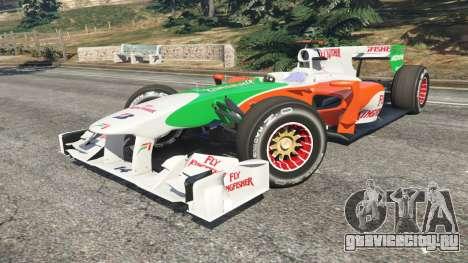 Force India VJM03 для GTA 5 вид справа