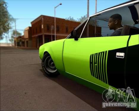 Clover Barracuda для GTA San Andreas вид справа