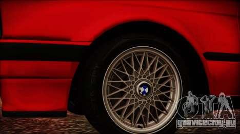 BMW M3 E30 Sedan для GTA San Andreas вид справа