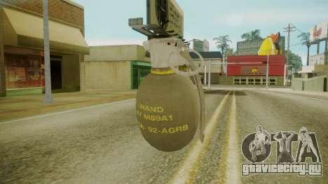 GTA 5 Grenade для GTA San Andreas второй скриншот