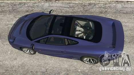 Jaguar XJ220 v0.9 для GTA 5 вид сзади