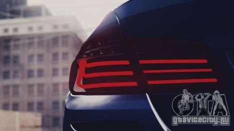 BMW M5 F10 Stock Single для GTA San Andreas вид справа