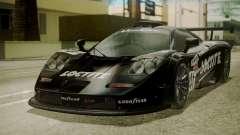 McLaren F1 GTR 1998 Loctite для GTA San Andreas