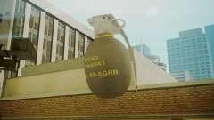 GTA 5 Grenade для GTA San Andreas
