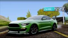 Ford Mustang Shelby GT350R 2016 No Stripe