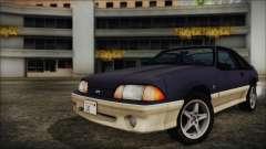 Ford Mustang Hatchback 1991 v1.2 для GTA San Andreas