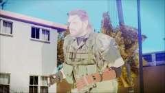MGSV Phantom Pain Snake Normal Woodland для GTA San Andreas