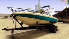 GTA V Boat Trailer для GTA San Andreas