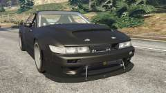 Nissan Silvia S13 v1.2 [without livery] для GTA 5