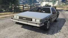 DeLorean DMC-12 Back To The Future v1.0 для GTA 5