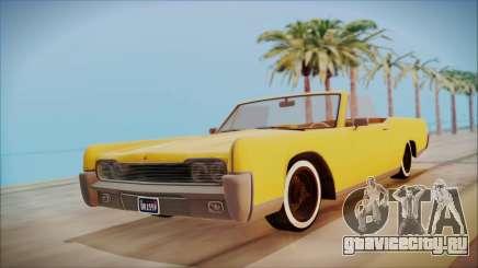 GTA 5 Vapid Chino Bobble Version для GTA San Andreas