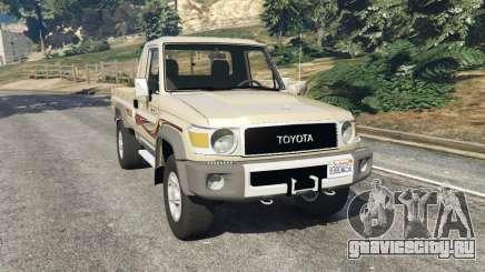 Toyota Land Cruiser LX Pickup 2016 для GTA 5