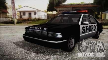 Beta SFPD Cruiser для GTA San Andreas