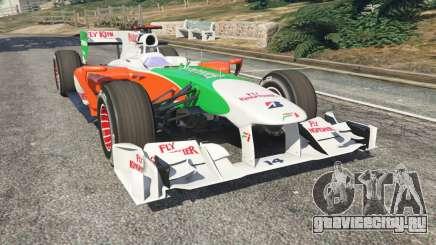 Force India VJM03 для GTA 5