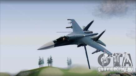SU-35 Russian Air Force Modern Livery для GTA San Andreas