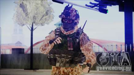 MW2 Russian Airborne Troop Desert Camo v4 для GTA San Andreas