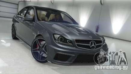 Mercedes-Benz C63 AMG v1 для GTA 5