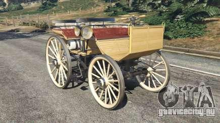 Daimler 1886 [wood] для GTA 5
