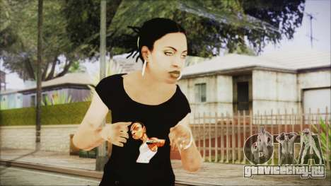 Left 4 Dead Rochelle для GTA San Andreas