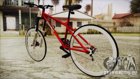 Scorcher Racer Bike для GTA San Andreas вид слева
