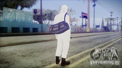 GTA 5 Online The Heist Gasmask Yellow для GTA San Andreas третий скриншот