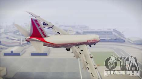 Boeing 747-237Bs Air India Emperor Ashoka для GTA San Andreas вид слева