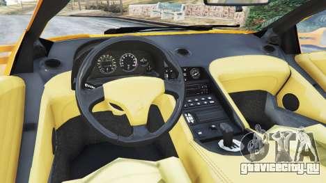 Lamborghini Diablo Viscous Traction 1994 для GTA 5 вид сзади справа