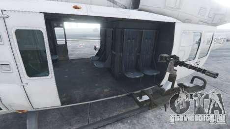 Bell UH-1Y Venom v1.1 для GTA 5 шестой скриншот