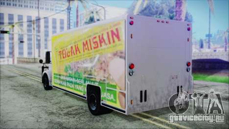 Indonesian Benson Truck Not In Real Life Version для GTA San Andreas вид слева