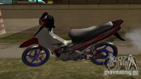 Yamaha 125z для GTA San Andreas вид справа