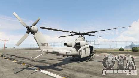 Bell UH-1Y Venom v1.1 для GTA 5 третий скриншот