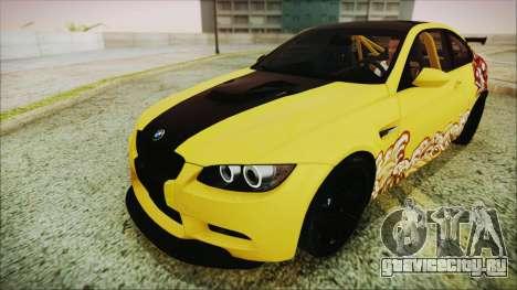 BMW M3 GTS 2011 HQLM для GTA San Andreas вид сбоку