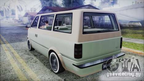 GTA 5 Declasse Moonbeam Custom IVF для GTA San Andreas вид слева