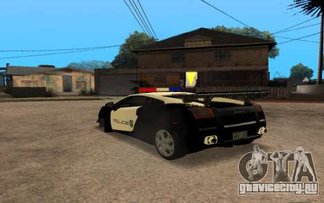 Lamborghini Gallardo Tunable v2 для GTA San Andreas вид справа
