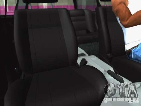 Volkswagen Passat B3 Variant для GTA San Andreas вид изнутри