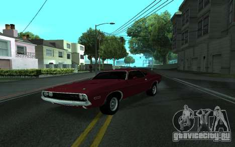 Dodge Challenger Tunable для GTA San Andreas