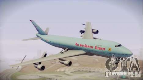 Boeing 747-100 Blue для GTA San Andreas
