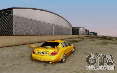 Ikco Dena Full Tuning для GTA San Andreas вид слева